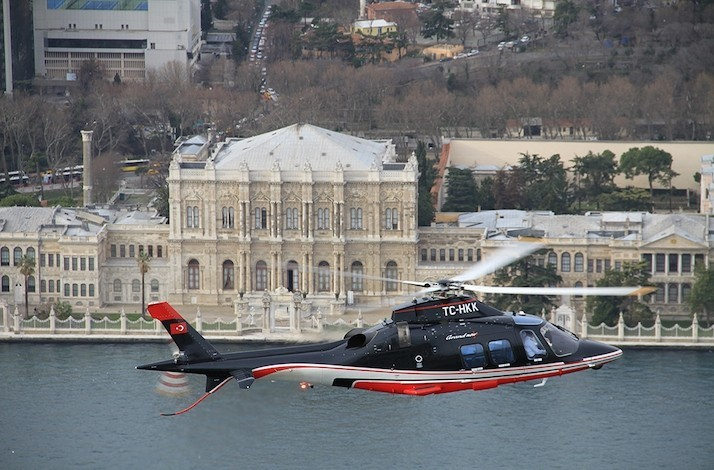 Helicopter Tour Through the Bosphorus: In Şişli, Turkey (1)