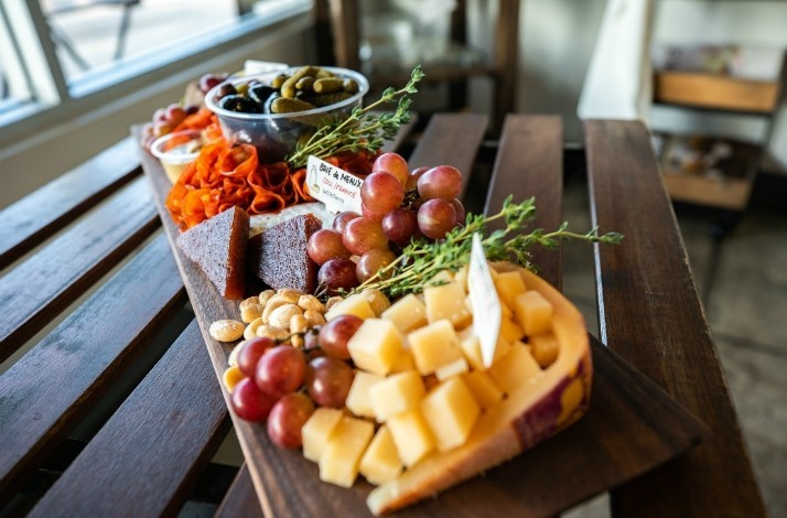 Learn how to build a gourmet cheese and charcuterie board at Milkfarm: In Los Angeles, California (1)