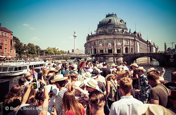 Cruise with early-access tickets to Berlin, Beats and Boats 2019: In Berlin, Germany (1)