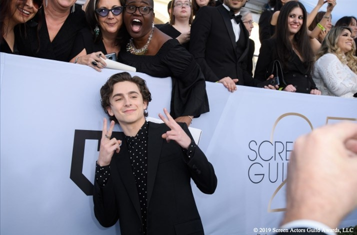 Red Carpet Bleacher Seats at the 2020 Screen Actors Guild Awards in Los Angeles | 2 Tickets: In Los Angeles, California (1)