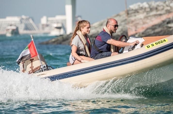 Captain your own boat to explore Dubai with HERO OdySEA: In Dubai, United Arab Emirates (1)