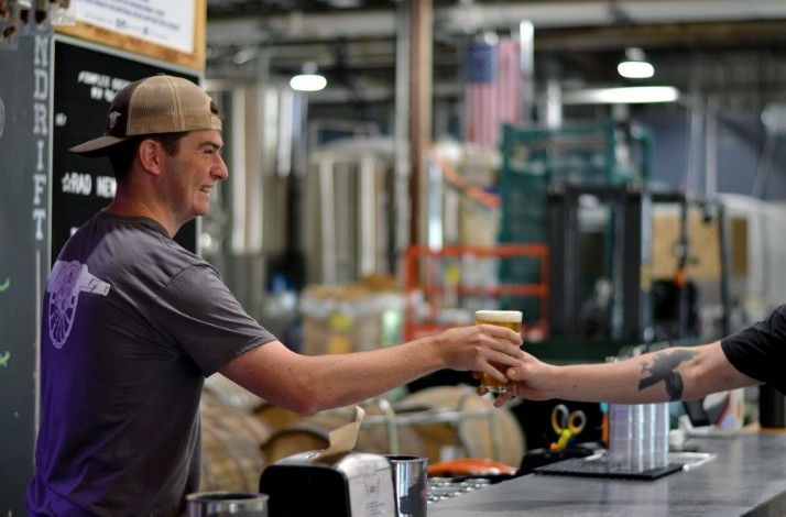 See how beer is brewed at Castle Island Brewing Company: In Norwood, Massachusetts (1)