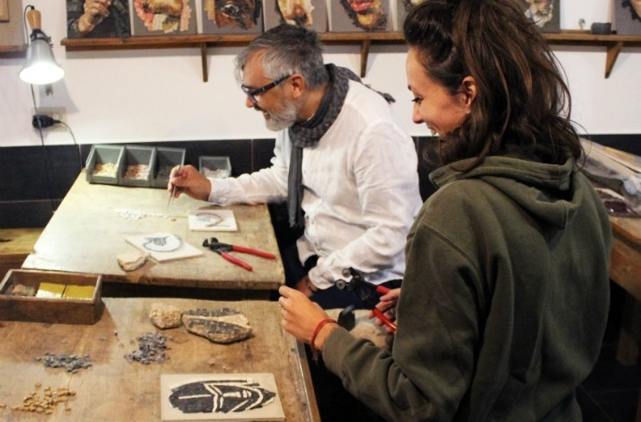 Create your own masterpiece in a traditional Roman workshop: In Roma, Italy (1)