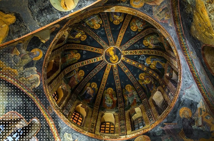 Tour the historic grounds and walls of St. Chora Church: In Istanbul, Turkey (1)