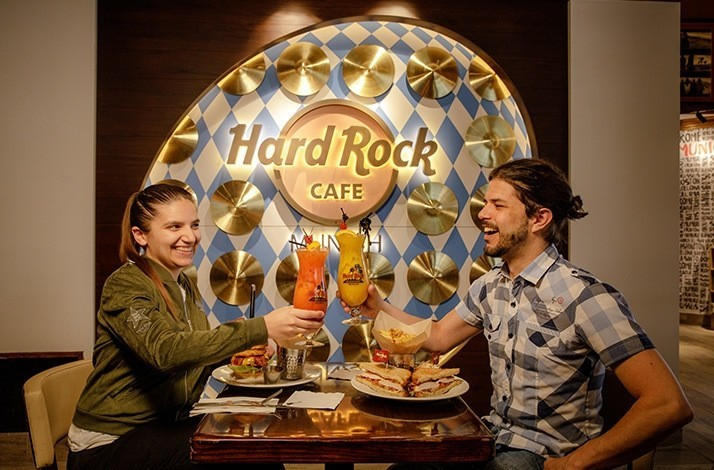 Celebrate with two-for-one cocktails at the Hard Rock Cafe Munich: In Munich, Germany (1)