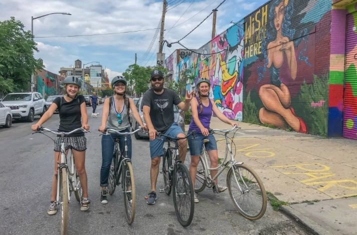 Bike your way to NYC's best street art and local food: In Brooklyn, New York (1)