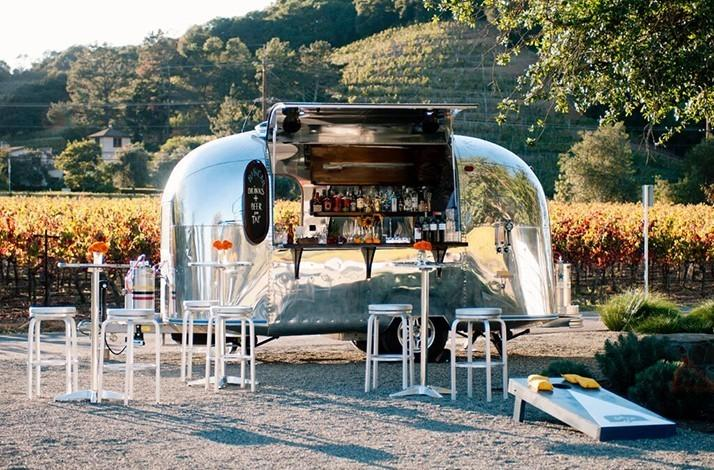 Delegate Drink Duty at Your Next Celebration to a Traveling Airstream Turned Bar for 80 Guests: In San Francisco, California
