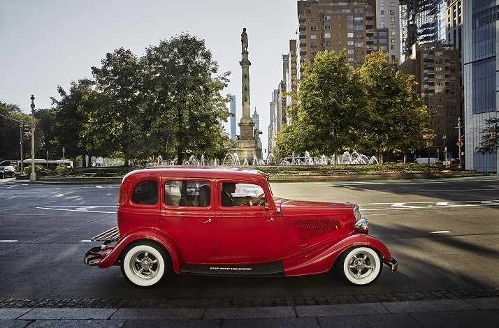 Take a 1920s-themed guided tour of NYC in a stunning classic car: In New York, New York (1)