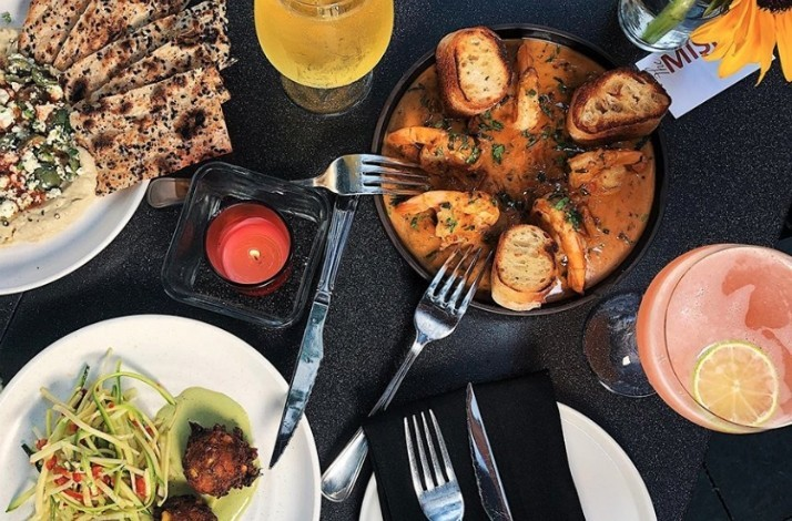 Treat yourself to a locavore's lunch and drinks at The Misfit: In Santa Monica, California (1)