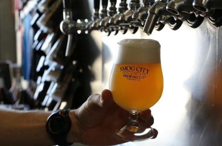 Sip & learn during a specialized tasting at Smog City Brewing Co.: In Torrance, California (1)