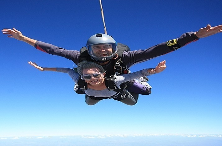 Freefall over Pretoria with a tandem skydiving adventure: In Pretoria, South Africa (1)