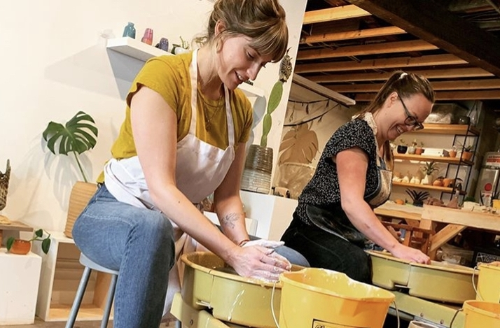 Make Pottery on the Wheel at a San Francisco Art Gallery and Studio: In San Francisco, California (1)