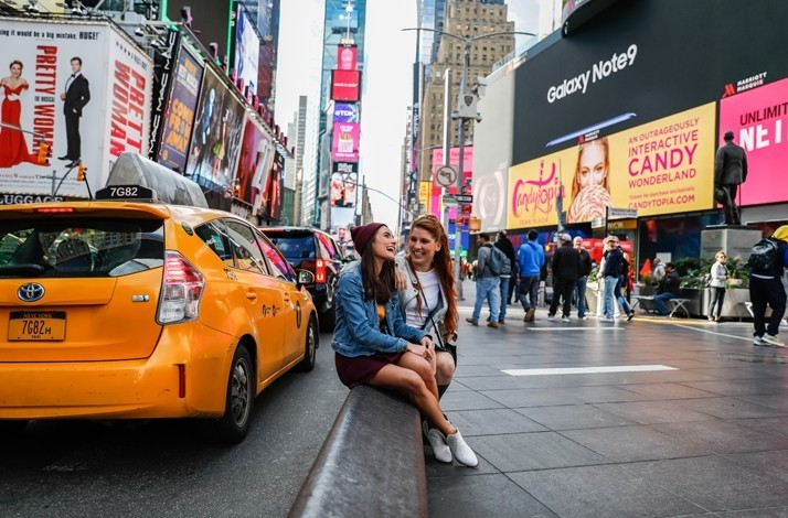 Travel like an influencer to Times Square: In New York, New York (1)