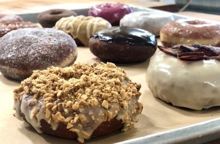 Glaze and decorate a half-dozen donuts at Union Square Donuts: In Somerville, Massachusetts (1)