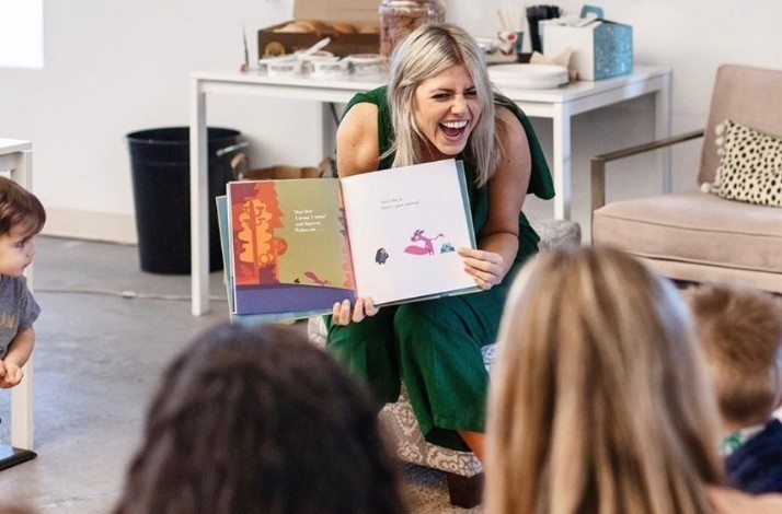 Create a story with your family and Miss Beth at Big City Readers: In Chicago, Illinois (1)