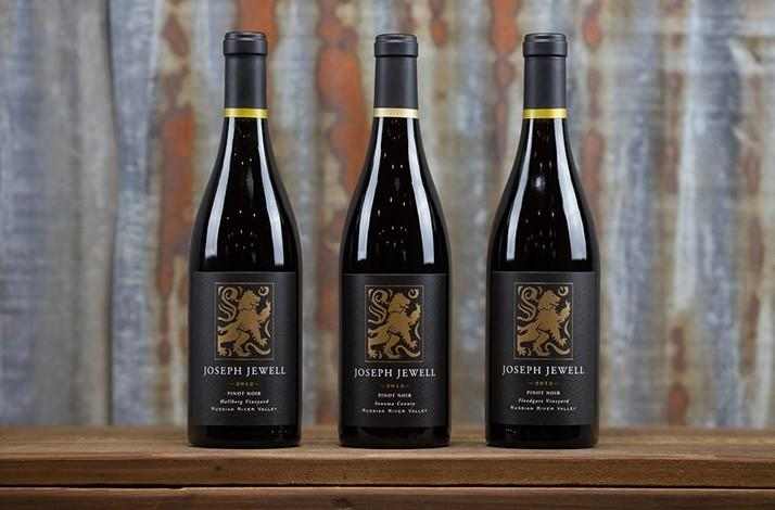 90-Plus Trio of California Pinot Noir by Breakthrough Winemaker Joseph Jewell