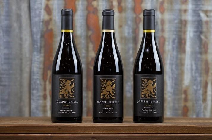 90-Plus Trio of California Pinot Noir by Breakthrough Winemaker Joseph Jewell (1)