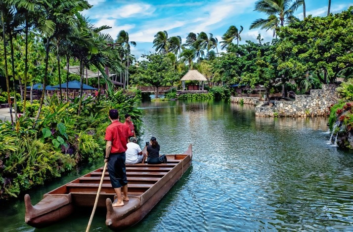 Go on a private Polynesian canoe adventure and learn to make poi: In Laie, Hawaii (1)