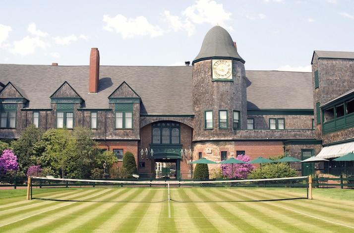 Lessons at the Tennis Hall of Fame with Professional Tennis Championship Finalist Todd Martin: In Newport, Rhode Island (1)