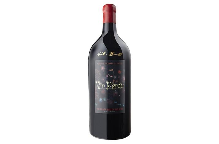 Rare and Collectible Five-Liter Jeroboam Bottle of 2013 Vin Perdu