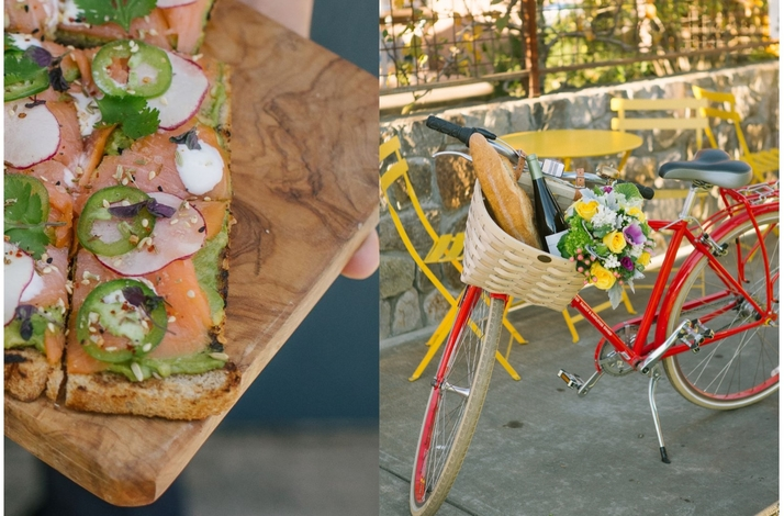 Cycling Excursion and Lunch at Clif Family Winery's Tasting Room: In Saint Helena, California (1)
