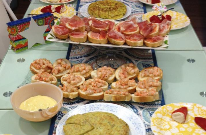 Authentic Spanish Tapas Feast in Your Home: In Alameda, California