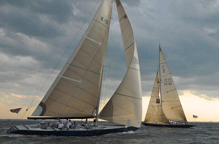 Sail on an America's Cup 12m Yacht with a Racing Veteran: In Greenwich, Connecticut (1)
