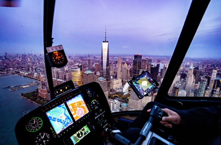 Couple's Private Helicopter Sightseeing Experience over New York : In New York, New York (1)