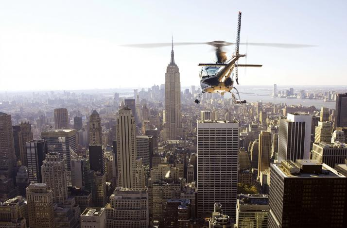 45-Minute Private NYC Helicopter Tour for Up to Six People: In Harrison, New York