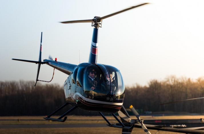 Helicopter Flight Lesson 1 Student and Up to 2 Guests over Westchester, New York : In Harrison, New York (1)