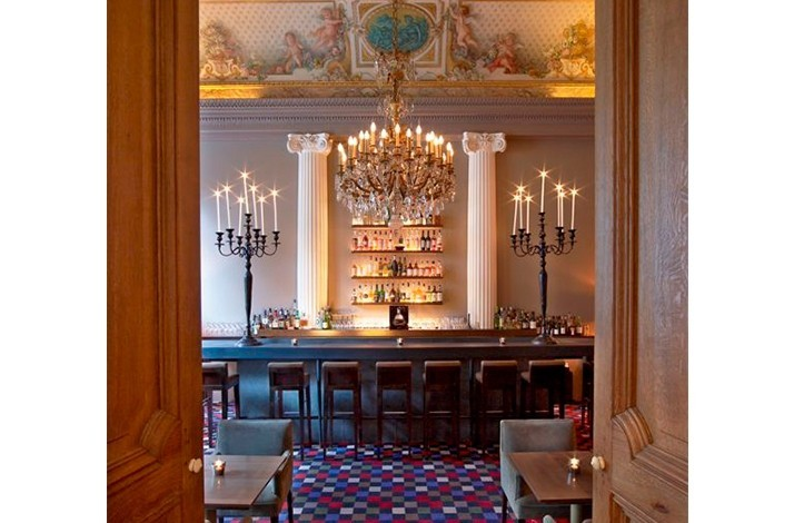 Dinner Party for Eight in the Private Dining Room: In Paris, France (1)
