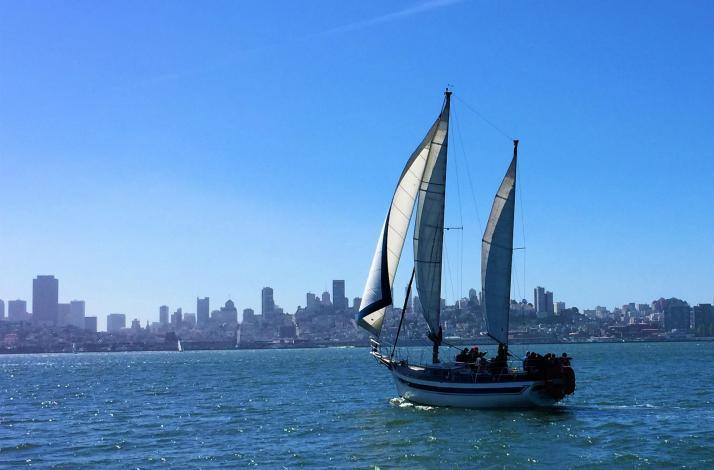 Champagne and Mimosa Cruise with San Francisco Sailing Company: In San Francisco, California