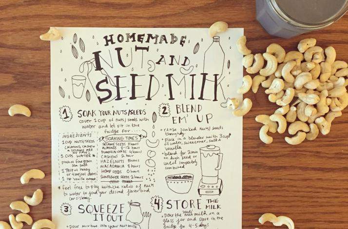 DIY Nut Milk and Granola Workshop: In Emeryville