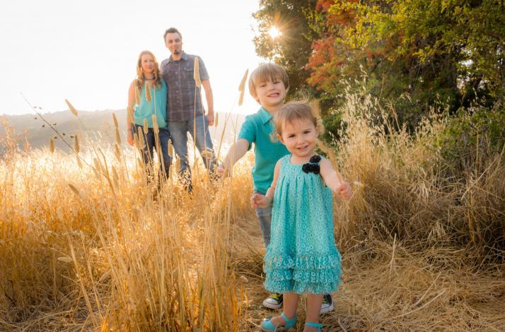 Family Portrait with Spirit: In San Rafael, California (1)