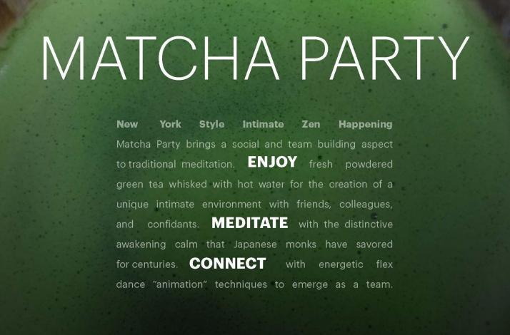 Matcha Party Experience: In Brooklyn, New York (1)