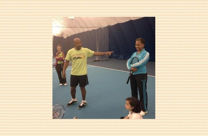 Day of Tennis Instruction with Pro Katrina Adams