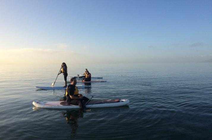Scenic Stand Up Paddleboard Lesson in the Bay Area: In Alameda, California (1)