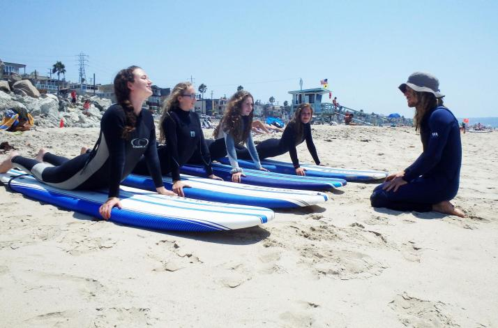 Private Surf Lesson with a Local Expert: In Gardena, California (1)