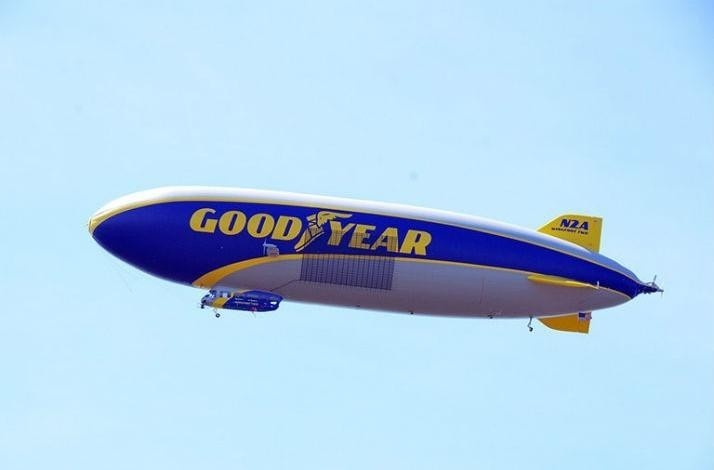 Take a Ride Over LA in the Goodyear Blimp: In Los Angeles, California