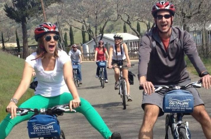 Calistoga Sip & Cycle Adventure: In Calistoga, California