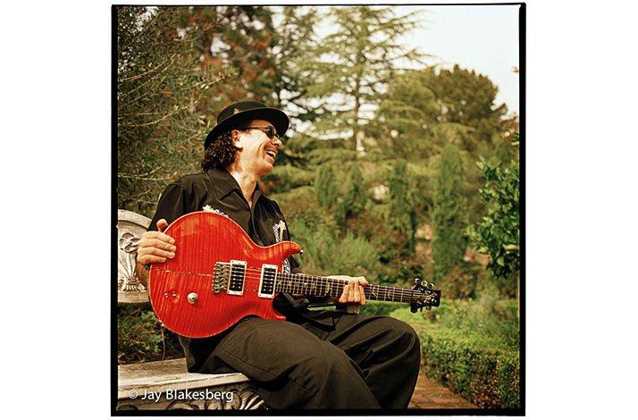 Carlos Santana 1: Limited Edition Print by Jay Blakesberg (1)