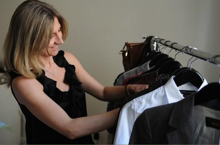 Change of Season and Wardrobe Clear Out: In Manhattan, New York