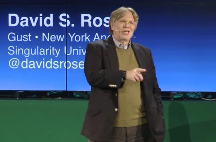 David S. Rose, Tech Visionary and Venture Capitalist, Will Speak to Your Group: In New York, New York (1)