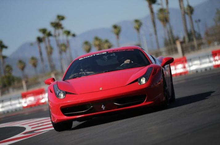 Private Driving Experience in a Ferrari or Lamborghini: In Fontana, California (1)