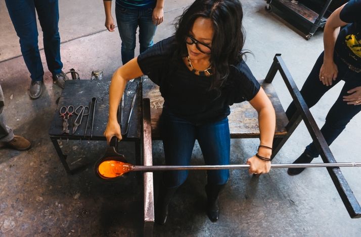 Learn the Art of Glassmaking and Create a Glass Flower or Orb at Public Glass in San Francisco: In San Francisco, California (1)