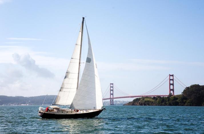 Nautical Adventure on San Francisco Bay: In Sausalito, California (1)