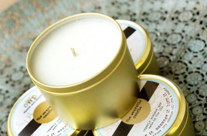 Black Fig, Sage, and Absinthe Wearable Candle: In Los Angeles County, California (1)