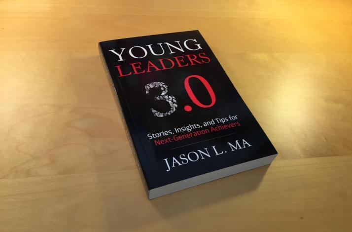 Hand-Signed Copy of <em>Young Leaders 3.0</em>