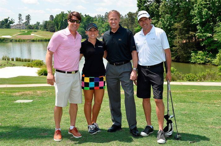 Golf with NASCAR Legend Rusty Wallace in North Carolina