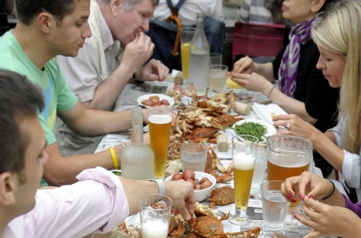 Chesapeake Style Crab Feast: In Las Vegas, New York
